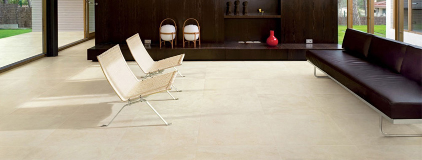 how should the living room floor tile modelling be designed