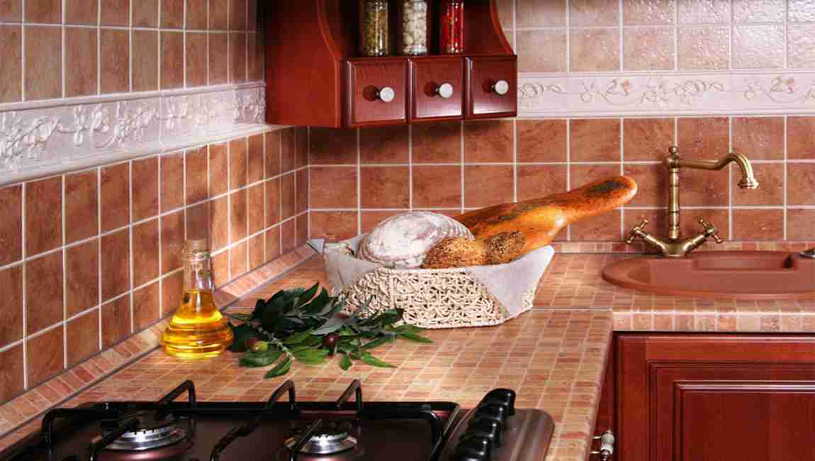 Selection Of Color Of Kitchen Tiles - Barana Tiles