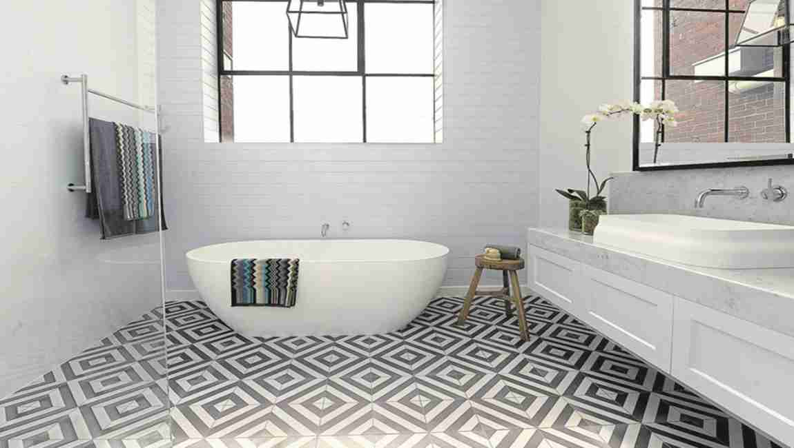Miraculous How To Tiling A Bathroom Floor Tiles Barana Tiles Download Free Architecture Designs Sospemadebymaigaardcom